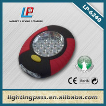 China supplier work light LED 19+3 with hook and magnet