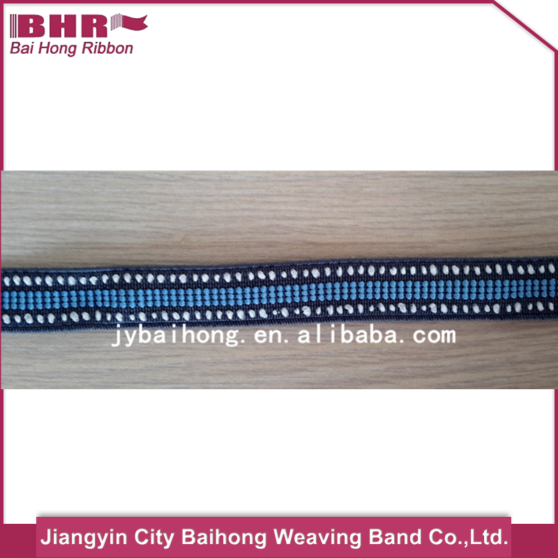Woven knitted polyester pp elastic band for shoes/garment/bag