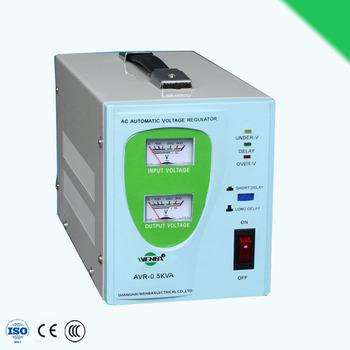 Avr-0.5kva Svr Relay Type Ac Power Voltage Stabilizer Best Price ...