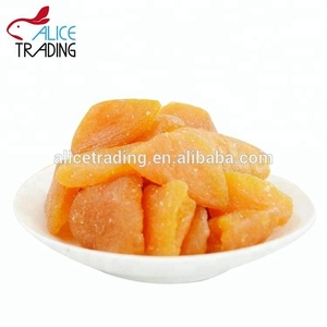Healthy Snack Dried Yellow Peach