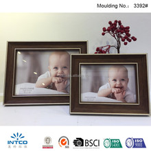 INTCO decorative tabletop glass photo baby frame