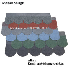 Cheap Goethe asphalt shingles new building material roofing tiles