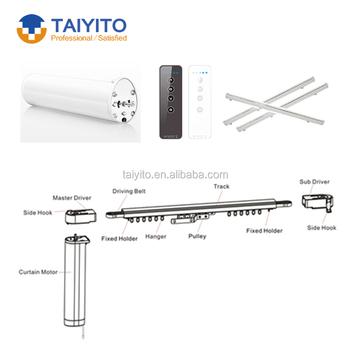 Taiyito Platte Open Elektrische Gordijn/automatische Gordijnen ...