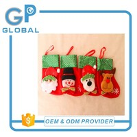 2017 New Year Hot sell Children Gift Decorative Christmas Stocking