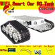 Official DOIT RC Metal Tank Chassis Wall Tractor Robot Wall-E Crawler Wall Brrow Land Car DIY RC Toy Remote Control