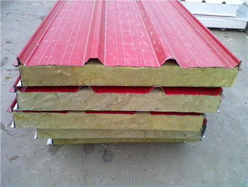 Insulation Mineral Sandwich Panel Low Price Rock Wool