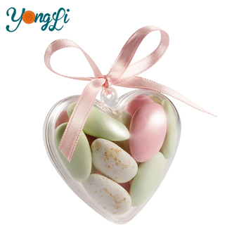 Heart Shape Plastic Wedding Door Gift