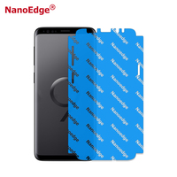 5D NanoEdge Full Screen Edge TPU Screen Protector For Samsung S9 S9 plus