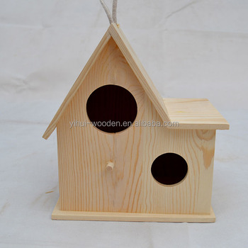 Merveilleux Wooden Bird Cage, Wood Bird House, Garden Decorative Bird Cage Wood Crafts