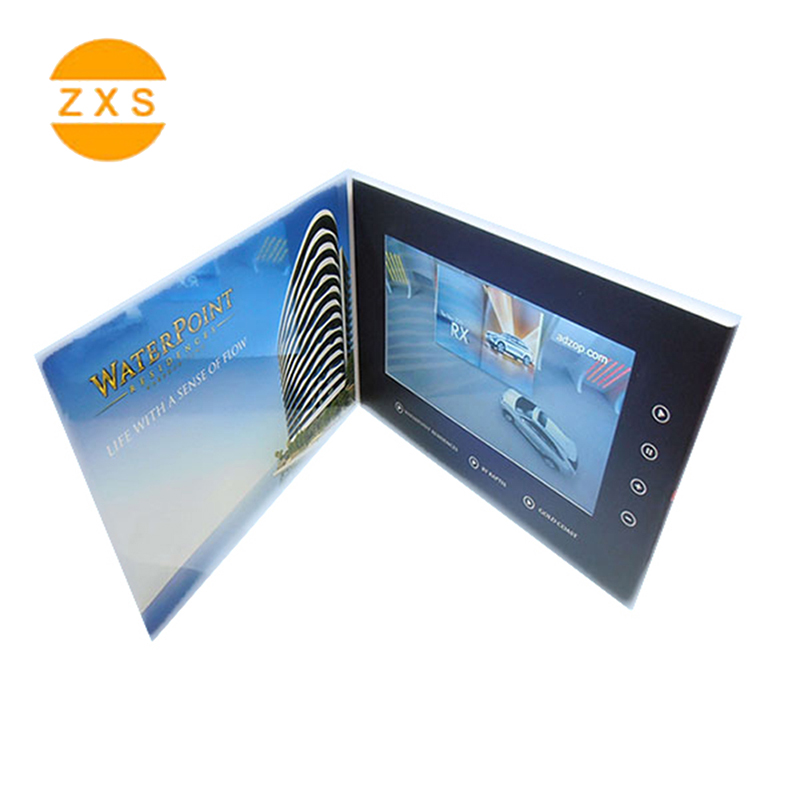 Neu LCD Marketing Visitenkarte Display Karte LCD Screen Video Mailer Box für Kreative Produkt