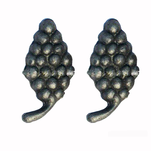 China Manufacturer Heavy Gauge Leaf Design Decorative Forged Cast Steel Iron Components