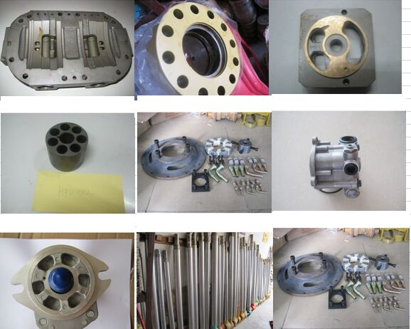 original used Mitsubishi K4N with intercooling cylinder head for hydraulic excavator engine parts