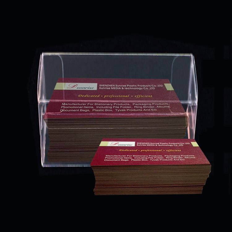 669 Cm En Plastique Transparent Botes De Cartes Visite Bote
