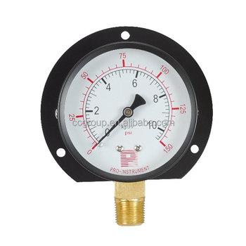 P BRAND 100mm 700 Bar And Psi Hydraulic Pump Pressure Gauge
