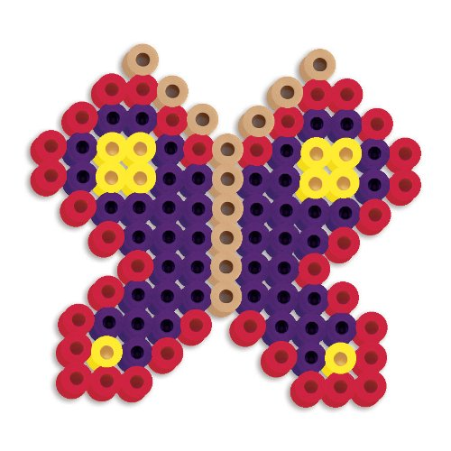 Perler Beads Silicone Pegboard Fused Bead Kit - Butterfly