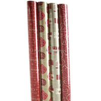 High Quality Customized Decorative Christmas Gift Wrapping Paper Supplier