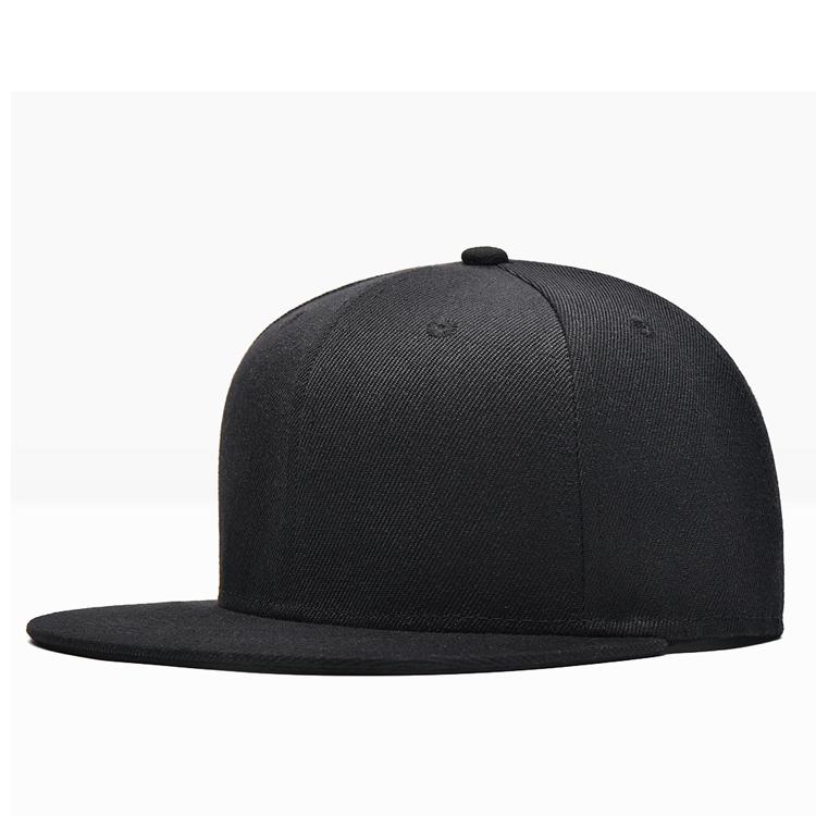 high quality yupoong classic 6 panel plain flat brim caps blank snapback  hats 72e81098913
