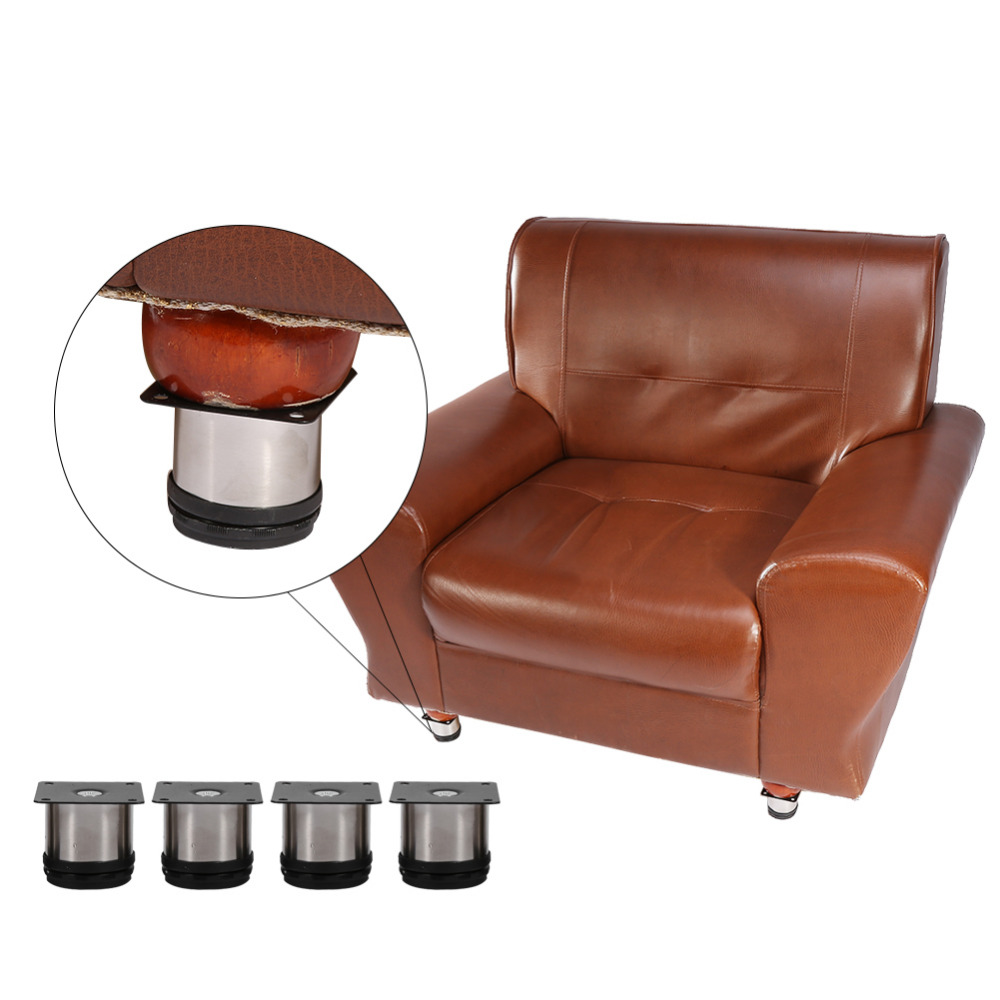 online kaufen gro handel edelstahl sofa f e aus china edelstahl sofa f e gro h ndler. Black Bedroom Furniture Sets. Home Design Ideas