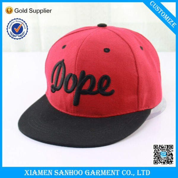 <strong>Custom</strong> Made Snapback Hats Cap Manufacturer High Quality Snap Back Caps