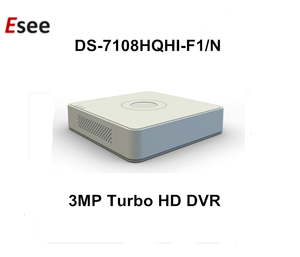 DS-7108HQHI-F1/N Hikvision 3MP HD Turbo DVR 8 Channel H 264 Support 1 HDDs