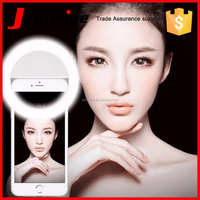 mini cell phone selfie light led selfie flash light for smartphone and tablet ring selfie rechargeable led flashlight