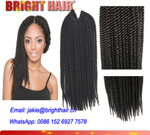 Qingdao Hair Top Quality Toyokalon Braiding Hair Senegalese Twist Hair for black women