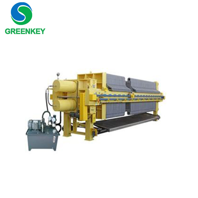 Long life efficient membrane filter press equipment especially for viscous materials