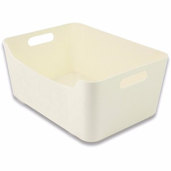 High quality white small storage plastic box
