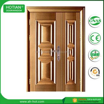 Half Door Designs one and half door design solid wood apartment door American Standard Decorative One And Half Door Leaf Security Steel Door With Stainless Steel Lock