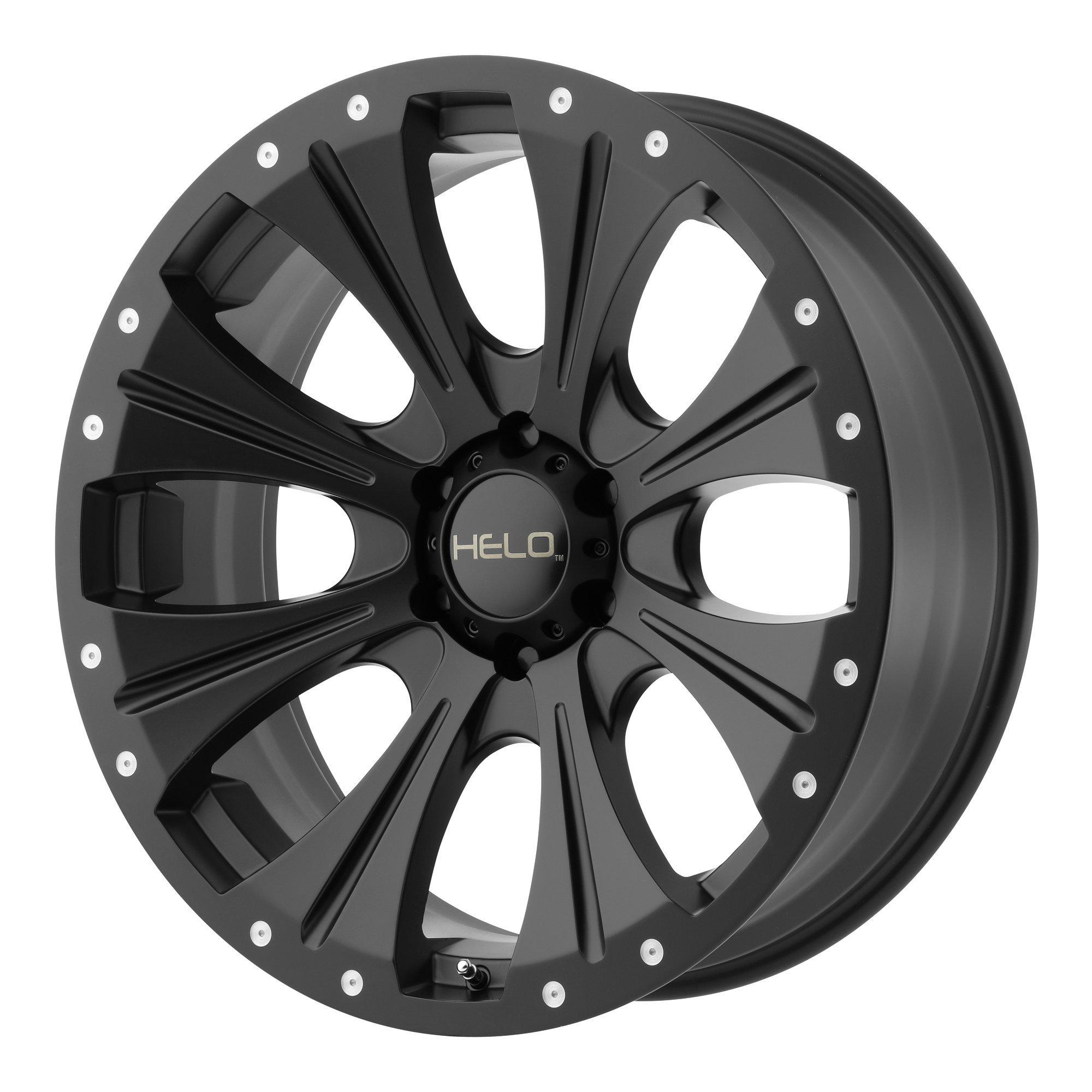 HELO HE901 SATIN BLACK HE901 18x9 5x139.70 SATIN BLACK (18 mm)