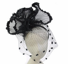 Hair accessories Fascinators and new design sinamay hats for women's party