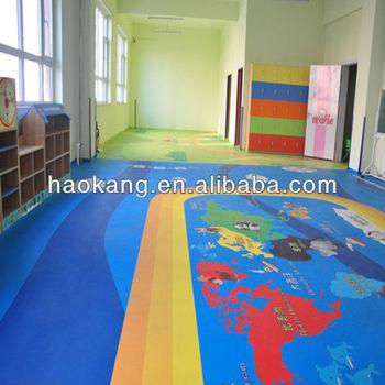 Safe Pvc Kid Vinyl Floor View Vinyl Floor Haokang Product Details From Hebei Haokang Sporting Goods Co Ltd On Alibaba Com