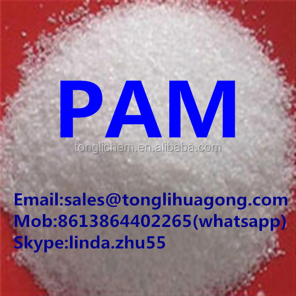 manufacturer polyacrylamide PAM used in oil, drilling mud, waste mud treatment