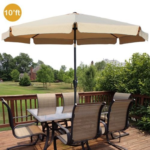 uv protection sunproof outdoor table with umbrella hole