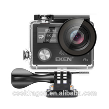 2017 EKEN V8S Dual screen Ambarella A12 chip Sports Action Camera 25fps 1080p 60fps EIS Cam PK mobius action camera 4k