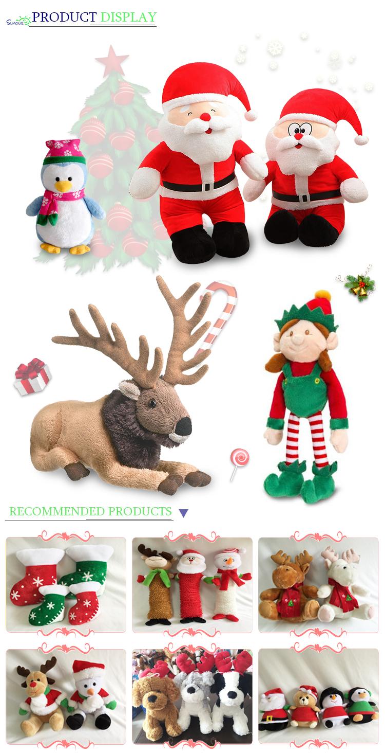 High-end Beautiful Cute Christmas Gift Baby Shy Long Legs Santa ...