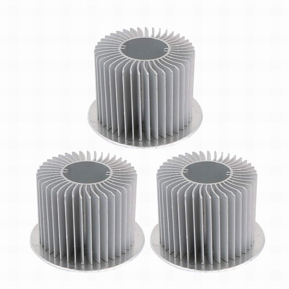 GUWANJI 1Pcs Aluminum LED Heatsink Heat Sink Cooler Cooling Fin 60mmx45mmx18mm