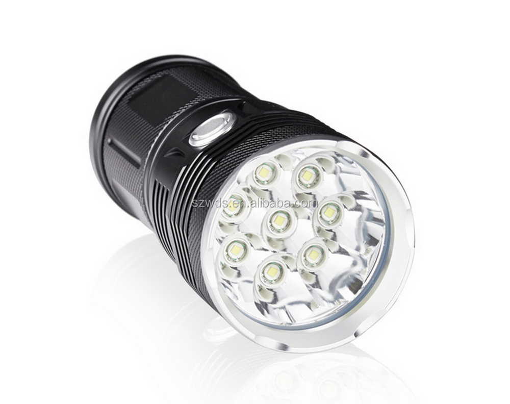 High Power 18 LED XML T6 38000LM 3 Mode Searching Torch LED Lantern Flashlight