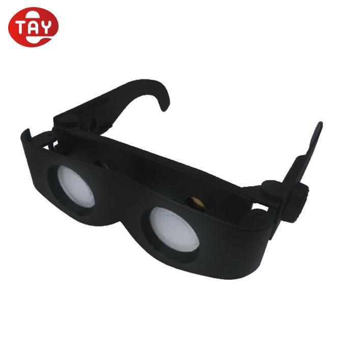3D Lens Correction Binocular Mag 6D to Adjustable Len Reading Glasses