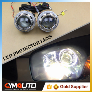 Factory sale Led Marker Angel Eyes 3.0 inch led angel eye guide light LandRover projector shrouds