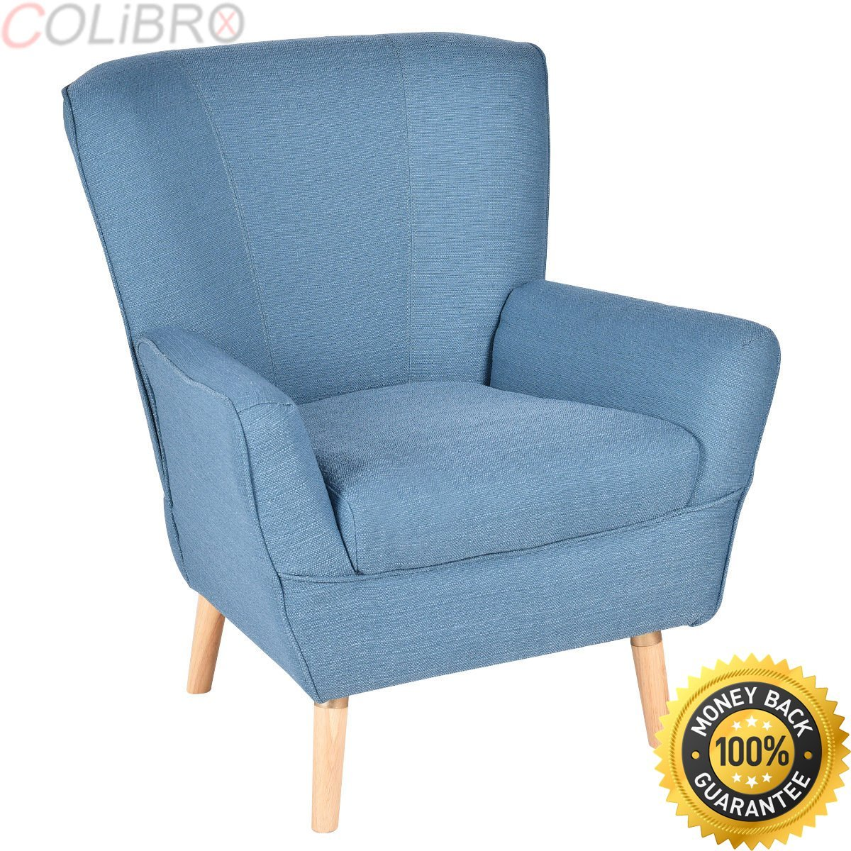 Buy COLIBROX--Modern Accent Arm Chair Single Sofa Seat ...