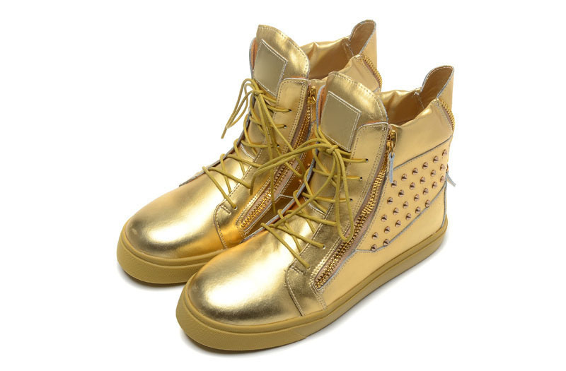 2015fahion Rivets Sneakers Top Men High Gold Buy With Shoes hQCdtsrxB