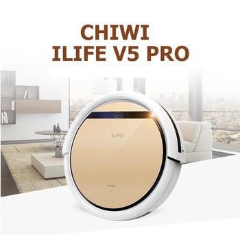 ilife v5 pro chuwi intelligent mop robot vacuum cleaner golden lid hepa - Robot Mop