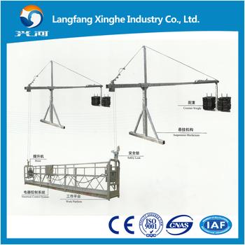 Work Scaffolding / Sky Lift / Mast Climbing Gondola / Suspended Wire ...
