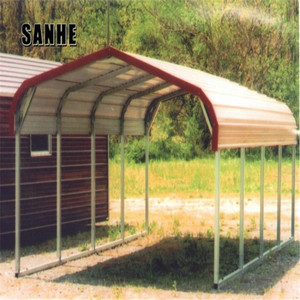Prefab steel carport ,used for car,RV ,sell carport at factory price