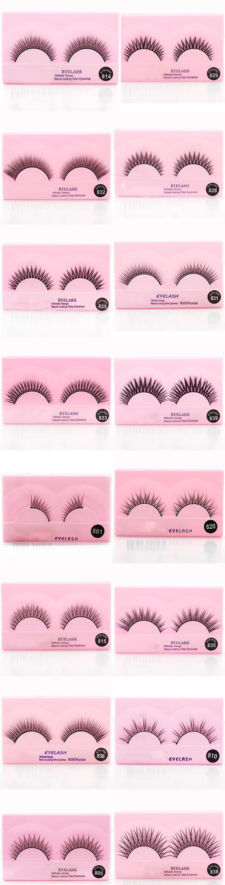 Synthetic Silk Eyelash Distributors False Eyelashes Manufacturer