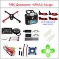 F450 Quadcopter Rack Kit Frame APM2 6 and 7M GPS 2212 920KV simonk 30A 9443