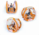 Theme Park Amusement Battery Leisure Shooting Game Ride Kids/Family Amusement Fun Speaker Music Car