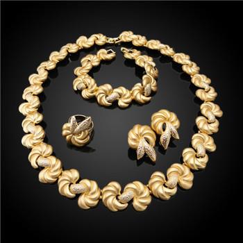 Африканский 24 К K позолоченный Имитация ювелирных изделий Таиланд, дешевые  Дубай Белое золото ювелирные изделия 4e2f2a29a1d