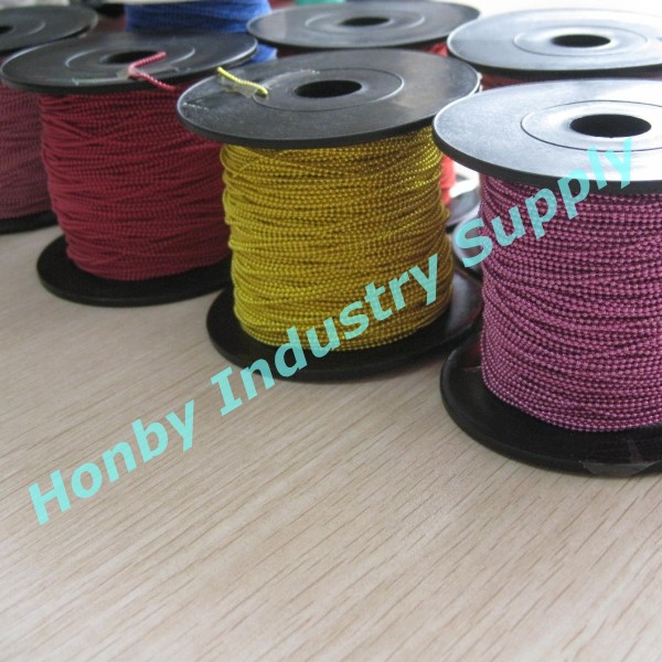 China Honby Supply Colored Metal Ball Link Chain